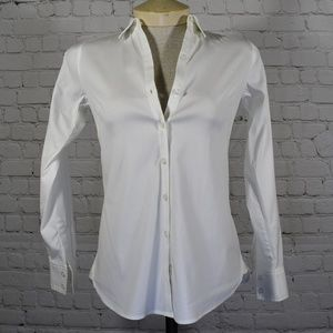 Ann Taylor Button Down Shirt 00P